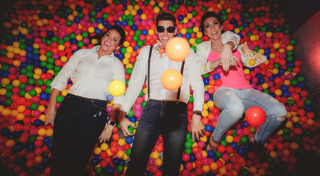 ball pit at event