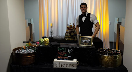 Bar at a Great Gatsby Party