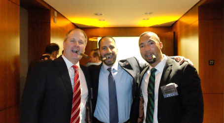 Guests with cigars
